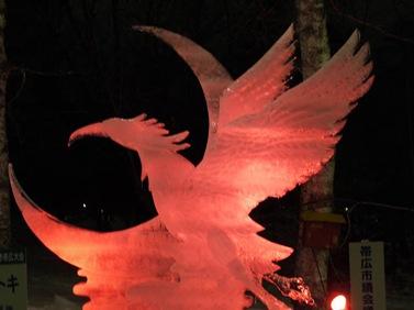 氷の彫刻D