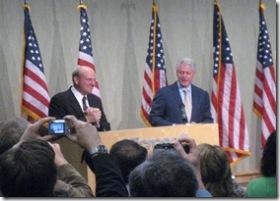 Steve Ballmer introduces Bill Clinton