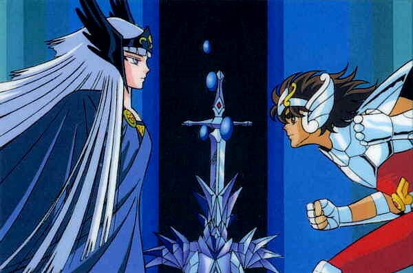 Hilda Vs Seiya