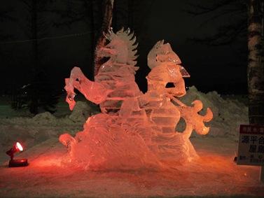 氷の彫刻A