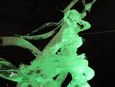 氷の彫刻B