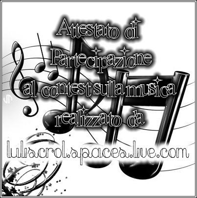 contest sulla musica