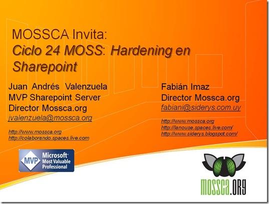 3_Hardening en Sharepoint