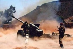 The Yemeni Army repels a Houthi attack on the Presidential Palace at Huthia Saada.