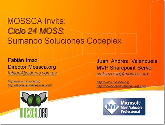WEbCast_Codeplex